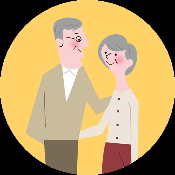 夫婦のイメージ